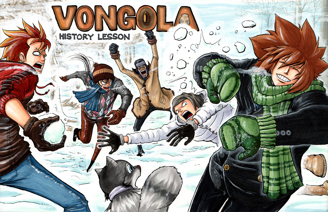 Confessions of a One Piece Addict: Vongola History Lesson